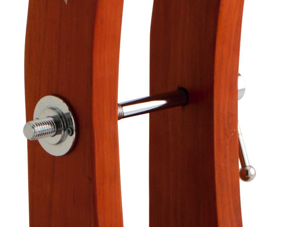 Quid 7519000/ colore: Marrone 33/x 21/x 42/cm dimensioni del tagliere 44/x 20/x 6/cm /Tagliaprosciutto
