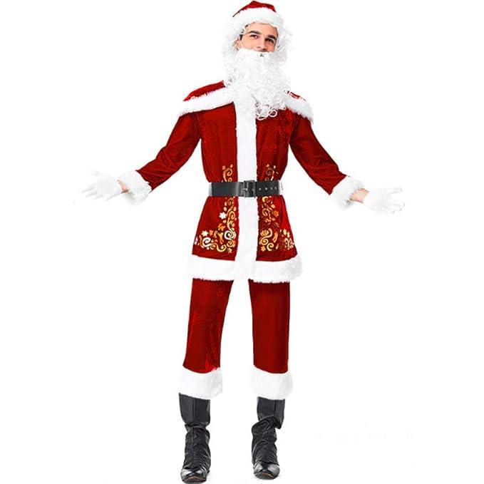 Mitef Disfraces De Papá Noel para Navidad Traje De Cosplay ...