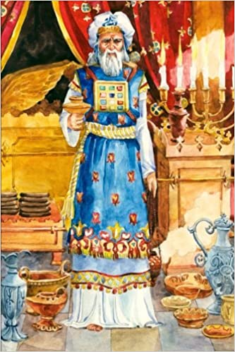 Book Ancient Israel Journal - High Priest: 150 page lined notebook/diary