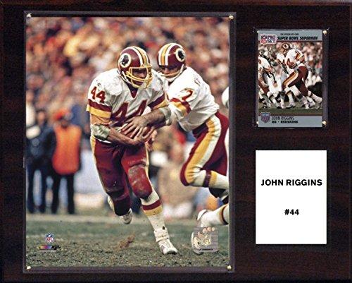 (NFL Washington Redskins Men's John Riggins Carolina Panthers Player Plaque, Brown)