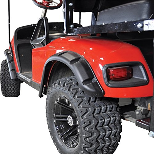 E Z Go GOLF CART PART TXT Golf Cart FENDER FLARES set of 4 1996-Up Gas/Electric by EZGO