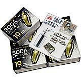 日本炭酸瓦斯ソーダサイフォン・ステンレスサイホン専用ソーダカートリッジ10本入りお買い得5箱セット
