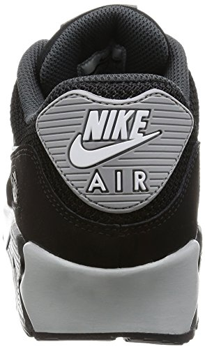 NIKE 90 Homme Noir Baskets wolf Max Black Air anthracite White Essential Grey Mode TEYTrqx