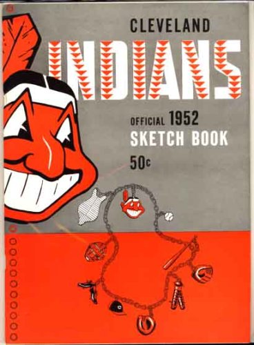 Cleveland Indians Official 1952 Sketch Book (Yearbook)