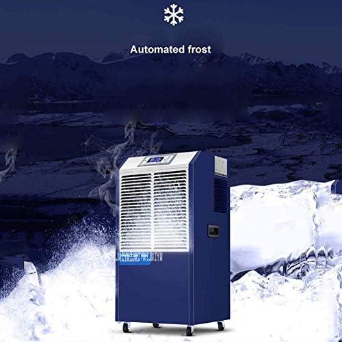 GGRYX Deshumidificador Purificador Aire, Deshumidificador Electrico con Ionizador Temporizador, Deshumidificador Aire Pantalla Digital, para Habitaciones como El Hogar,Blue: Amazon.es: Hogar