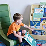 ECR4Kids Birch Hardwood Single-Sided Bookcase