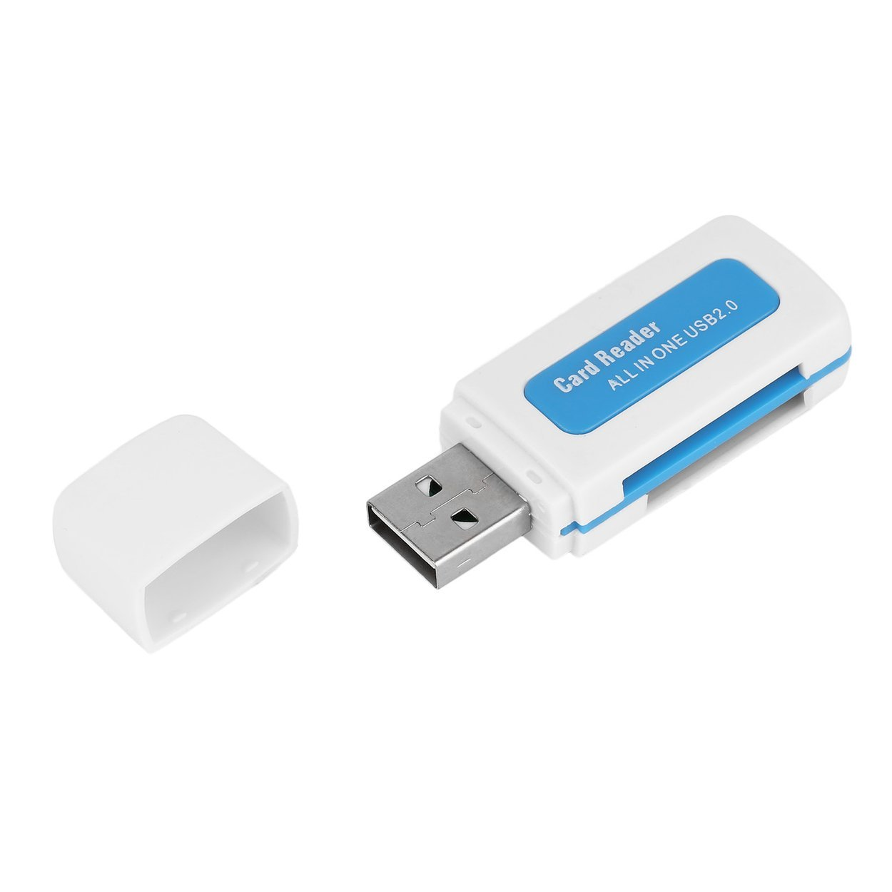 Protable USB 2.0 4 in 1 Memory Multi Card Reader for M2 for SD for SDHC DV Micro for Secure Digital Card TF Card