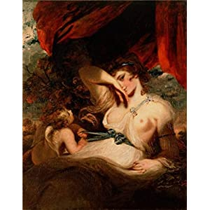 Oil Painting 'Cupid Untying The Zone Of Venus,1788 By Joshua Reynolds' 10 x 13 inch / 25 x 32 cm , on High Definition HD canvas prints is for Gifts And Bath Room, Kitchen And Powder Room decor, huge
