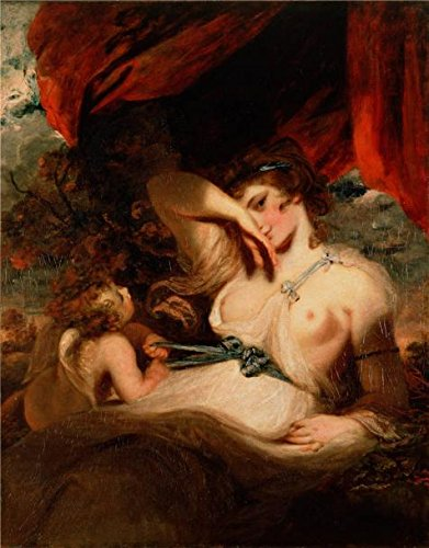[Oil Painting 'Cupid Untying The Zone Of Venus,1788 By Joshua Reynolds' Printing On Perfect Effect Canvas , 12x15 Inch / 30x39 Cm ,the Best Home Office Artwork And Home Decor And Gifts Is This Replica Art DecorativeCanvas Prints] (Victorian Costumes Rental)
