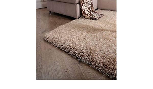 Amazon.com: QZ HOME Carpet Bedside Bedroom Home Comfortable Super Soft Full Shop European Style Fashion Decoration Thicken (Color : Brown, Size : 120 cm x ...
