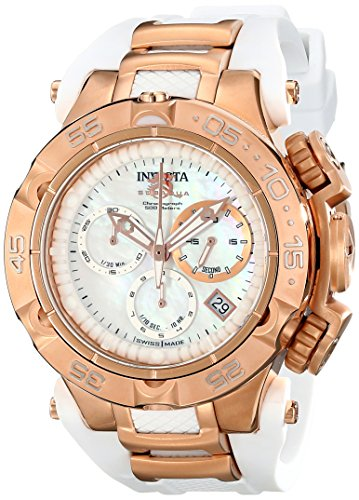 Invicta Women's 17239 Subaqua Analog Display Swiss Quartz White Watch