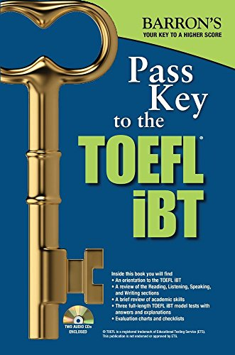 Pass Key to the TOEFL iBT with MP3 audio CD 9th Edition