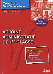 Adjoint administratif de 1e classe - Tout-en-un - Catégorie C - 8e édition (N 32)
