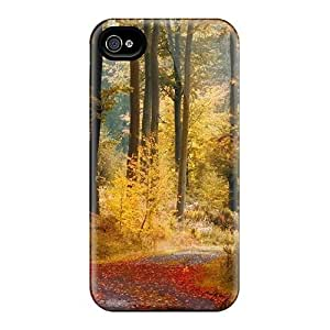 Rugged Skin Cases Covers For Iphone 6- Eco-friendly Packaging(november Rain)