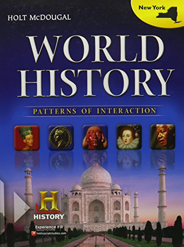 Holt McDougal World History: Patterns of Interaction  2012 New York: Student Edition 2012