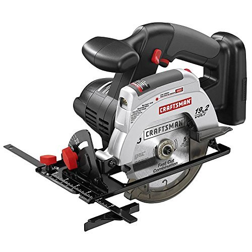 Craftsman C3 Cordless Trim Saw with Laser 19.2 V 4500 RPM 5-1/2 (Craftsman Cordless Switch)