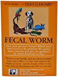 FECAL WORM TEST for All types of Pets(Dogs, Cats, Birds, Reptiles, Rabbits, Lions, Turtles)(Just Collect Sample and Mail to our Vet Lab)