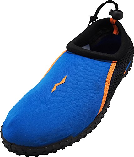 NORTY - Young Mens Skeletoe Aqua Water Shoes for Pool Beach,