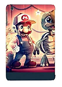 Ipad Mini/mini 2 Scratch-proof Protection Case Cover For Ipad/ Hot Mario And Friends On Christmas Eve Phone Case