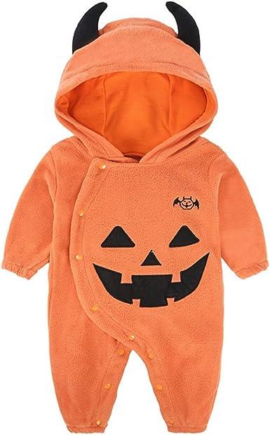 Morbuy Disfraces de Halloween Bebes, Mono para bebé Niña ...