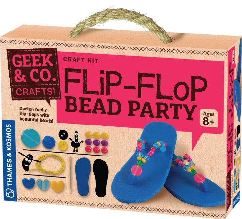 Geek & Co. Craft Flip-Flop Bead Party by Geek & Co. Craft