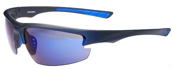 2761a71862 Amazon.com  Hilton Bay A59 Sunglasses Wrap Style UV400 Lens for ...