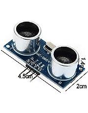 مستشعر قياس المسافة بالموجات فوق الصوتية HC-SR04 وحدة لأردوينو