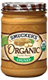 Smucker's  Organic Chunky Peanut Butter, 16-Ounce (Pack of 4)
