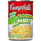 vegetable alphabet pasta - Campbell's Healthy Kids Condensed Soup, Chicken Alphabet, 10.5 Ounce (Pack of 12)
