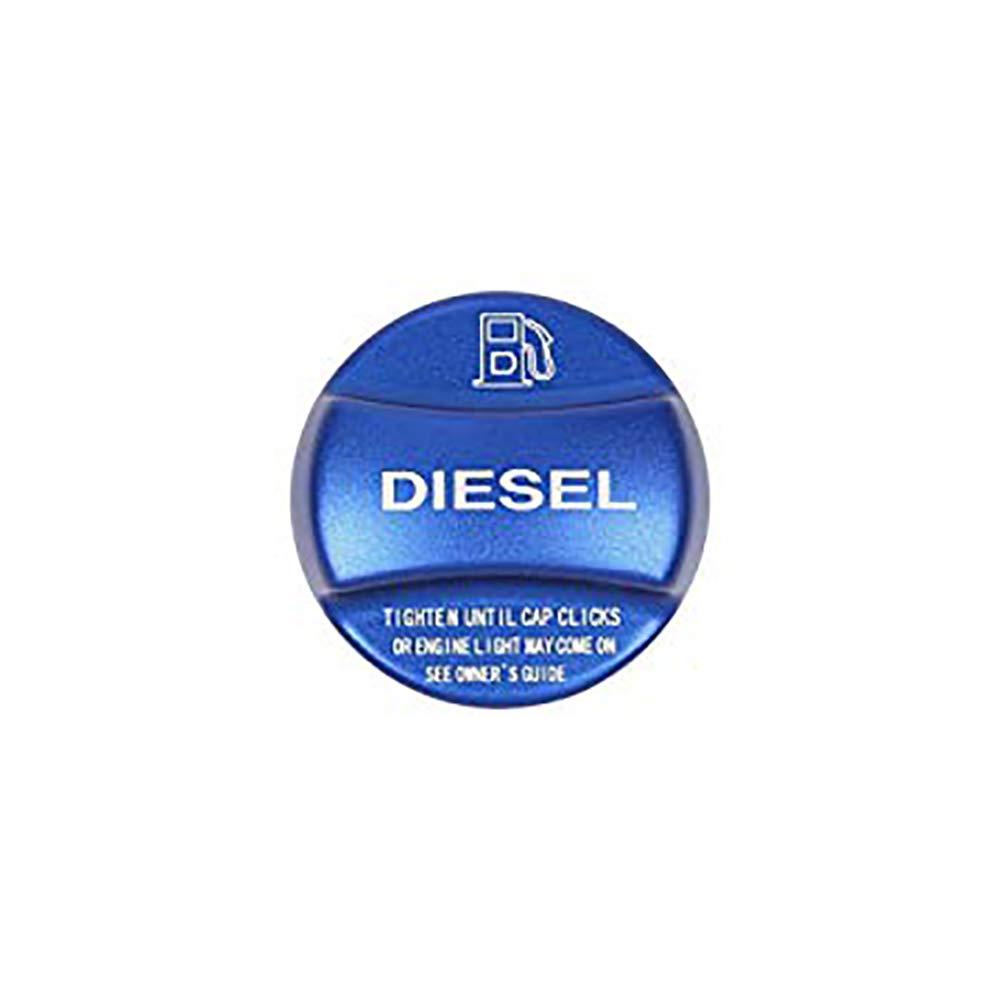 Alliage d'aluminium au gaz et diesel Fuel Tank Cover Cap Trim pour X1 X2 X3 X4 X5 X6 F10 F15 F16 F25 F26 F30 F34 F35 F48 F47 G30 G38 Carwest