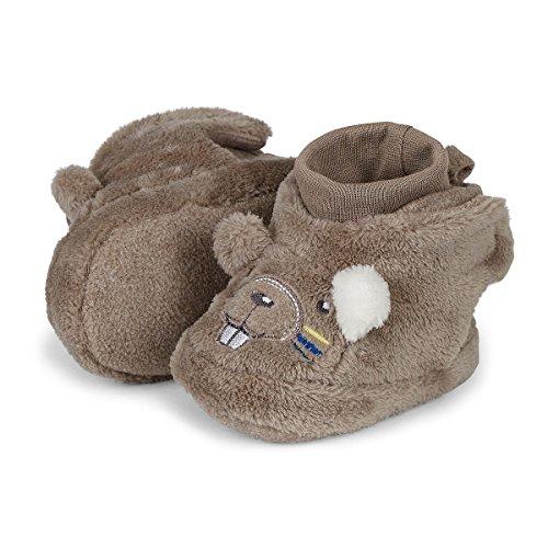 Sterntaler Unisex Baby Stiefel Braun (Schlamm 946)