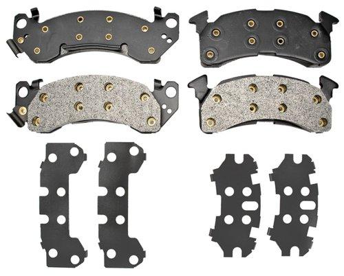 Raybestos PGD153M Professional Grade Semi-Metallic Disc Brake Pad Set -
