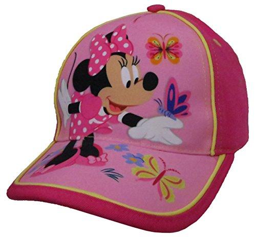 Butterfly Visor - Disney Minnie Mouse Girls Baseball Cap - [6014] (innie With Butterflies)