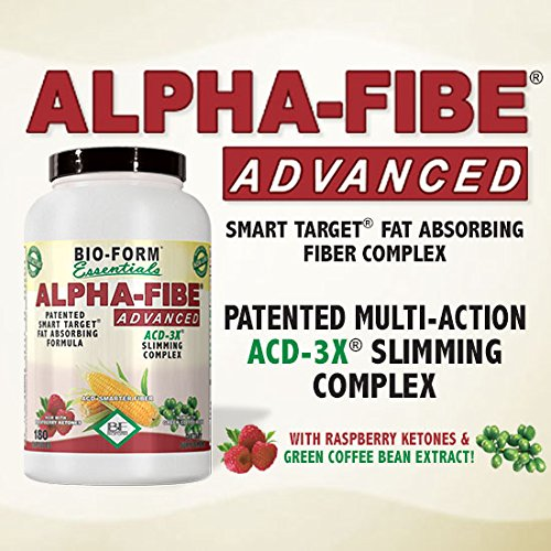 Alpha-Fibe Advanced ACD-3X Smart Weight Loss Complex (180 Fast-Acting Capsules) by Bio-Form by Alpha-Fibe