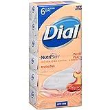Dial Skin Care Bar Soap, White Peach & Shea Butter, 3.2 Ounce, 72 Bars