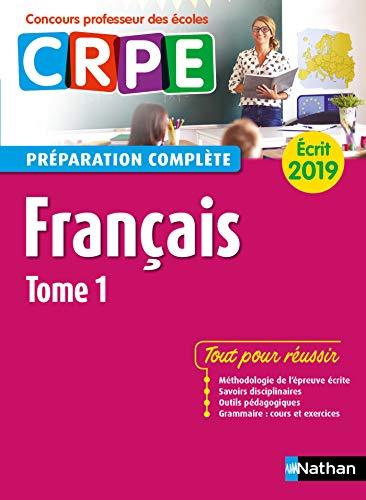 Amazon Com Francais Tome 1 Ecrit 2019 Preparation