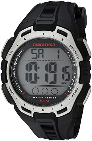 Marathon by Timex Men s Digital Full-Size Resin Strap Watch
