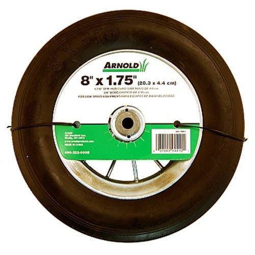 Arnold 490-322-0008 1.75 x 8 In. Wire Spoke Wheel Chrome