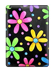 lintao diy BayyKck YdmnxBw935MMcuM Case For Ipad Air With Nice Funky Simple Flowers Appearance