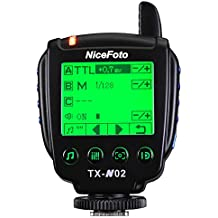 NiceFoto TTL transmitter TX-N02 for Wireless studio flash n6 for Nikon