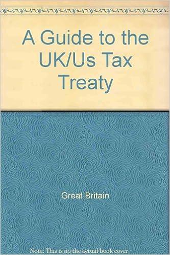 Tolleys Guide To The Ukus Double Tax Treaty Amazon