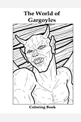 The World of Gargoyles: Coloring Book Paperback