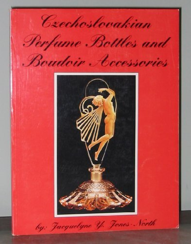 Czechoslovakian perfume bottle