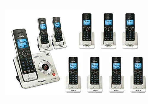 Vtech LS6425 Cordless Phone System with 10 HANDSETS, ANSWERING MACHINE, CID, BRAND NEW by VTech