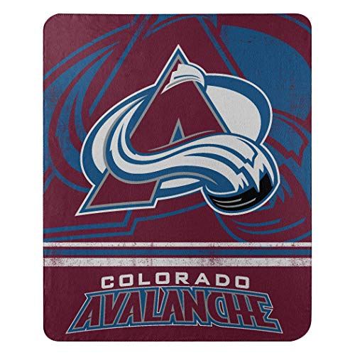 The Northwest Company NHL Fade Away Fleece Throw Blanket (Avalanche Blanket)
