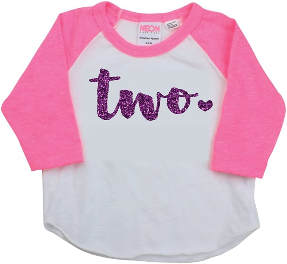 Bump and Beyond Designs Girl Second Birthday Outfit Second Birthday Shirt Two Year Old Outfit