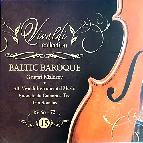 Vivaldi Collection 15 RV 66 - 72 from Baltic Baroque / Grigori Maltizov