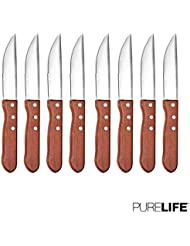 Steak Knives Set of 8pcs by PureLife