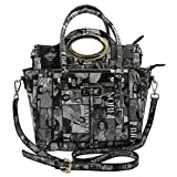 Michelle Obama Magazine Style Buckle Two In One Tote