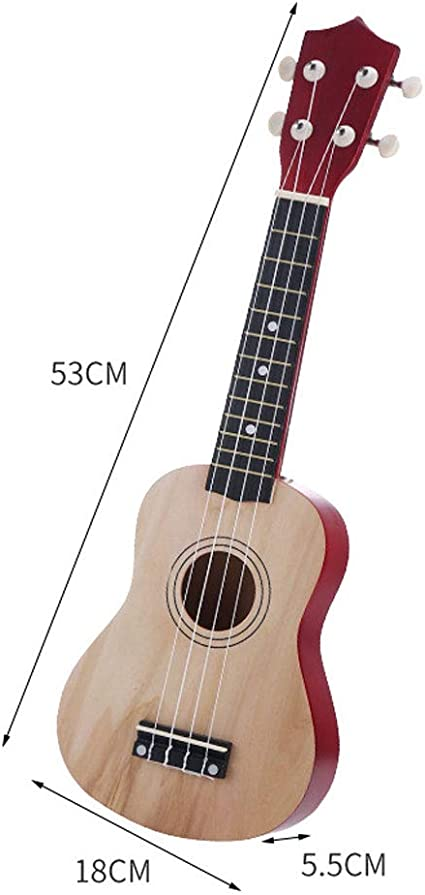 SXJC Principiantes Tamaño Completo De 21 Ukelele Guitarra ...